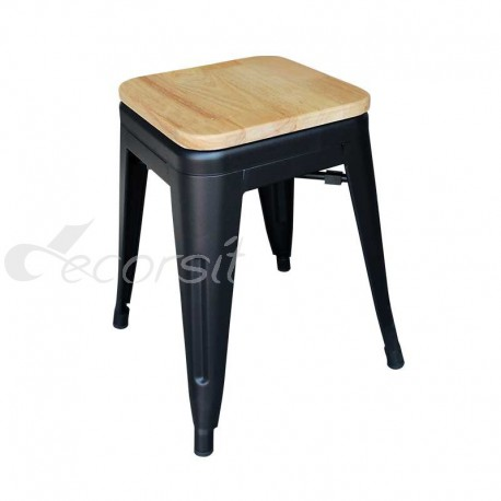 K1 Wood Low Stool