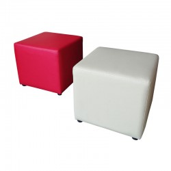 Square Pouffes Stool