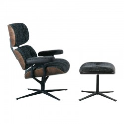 Leya Lounge Chair & Ottoman