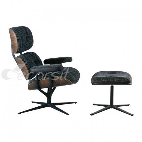 Leya Lounge Chair & Ottoman