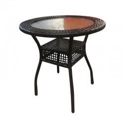 HT-03L Wicker Side Table