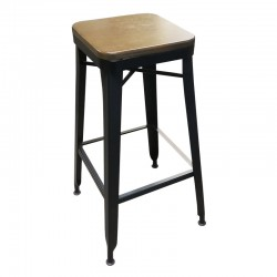 K3 Wood Barstool